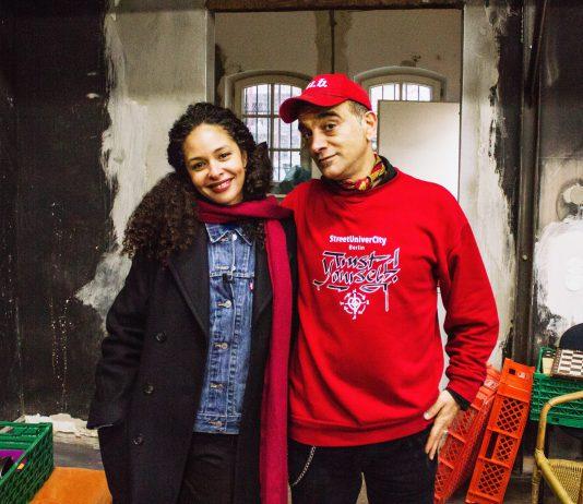 Gio Di Sera mit Joy Denalane in der Naunynritze Berlin Kreuzberg