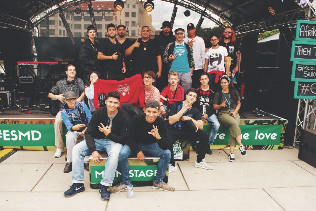 Die StreetUniverCity Berlin auf den East Side Music Days 2017